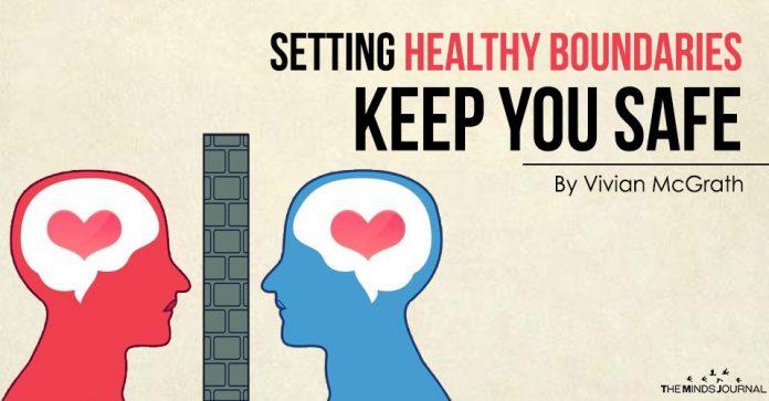 Setting Boundaries Keep You Safe