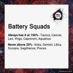 Signs As Battery Squads