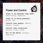 Signs As Power And Control