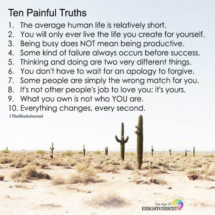 Ten Painful Truths