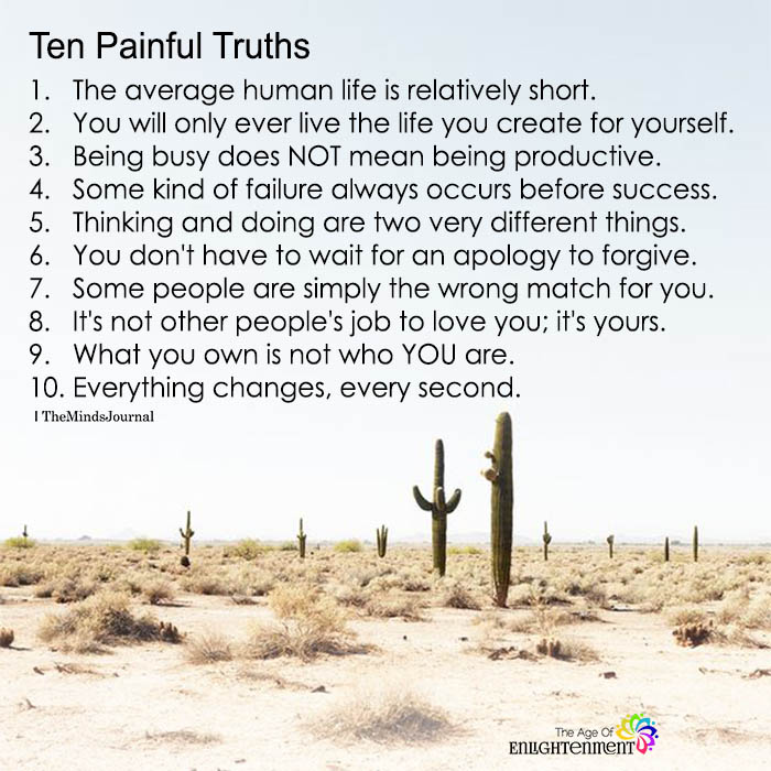 Ten Painful Truths