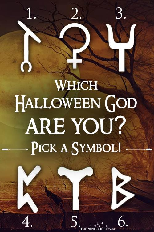 Which Halloween God – Goddess are you Pick a Symbol!