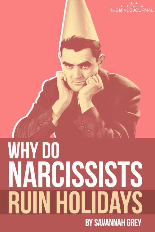 Why Narcissists Ruin the Holidays