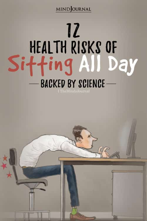 all day dangers of sitting health risk pin