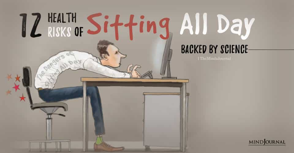 all day dangers of sitting health risk