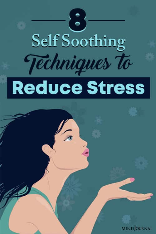 self soothing techniques to reduce stress pin