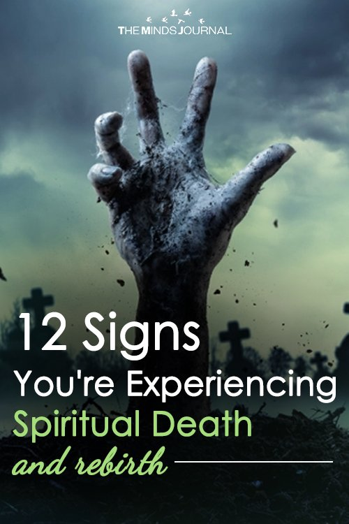 12 Signs- You're Experiencing Spiritual Death (and rebirth)