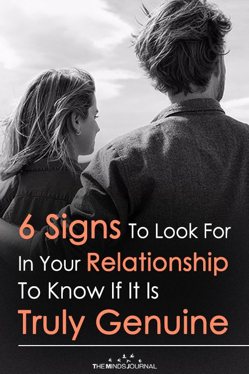 6 Signs To Look For In Your Relationship To Know If It Is Truly Genuine