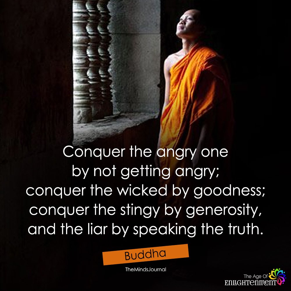 Conquer The Angry One By Not Getting Angry