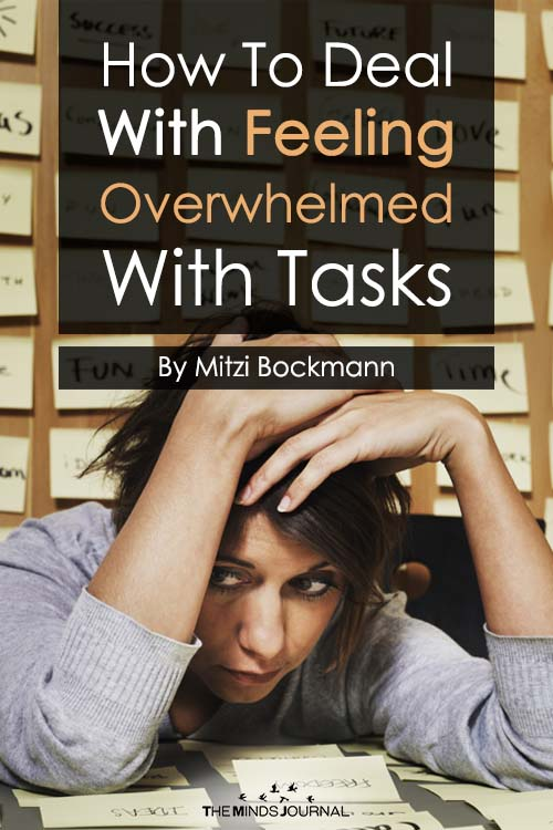 how to deal with feeling overwhelmed at work