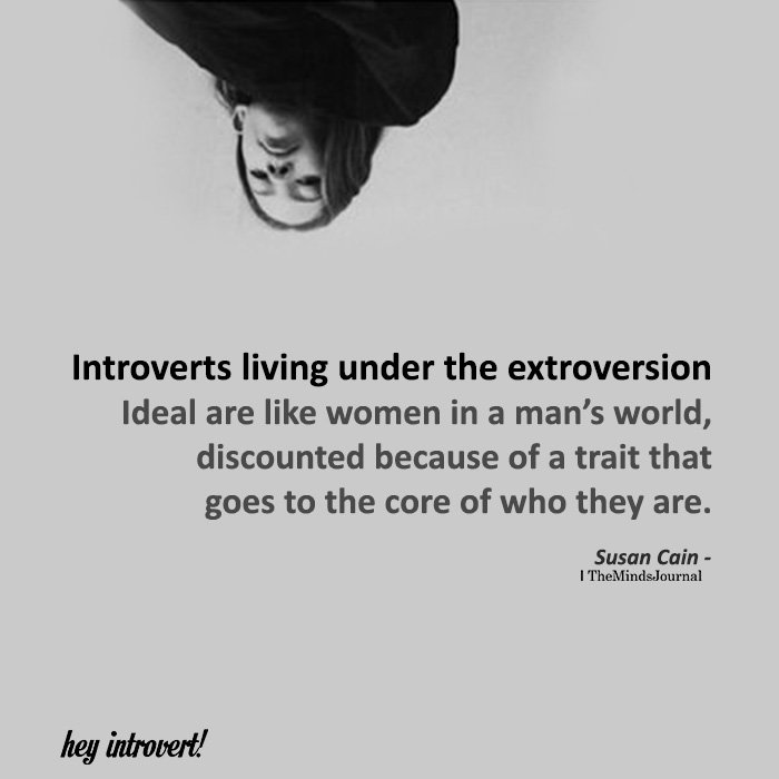 Introverts Living Under The Extroversion
