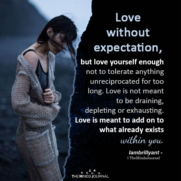 Love without expectation