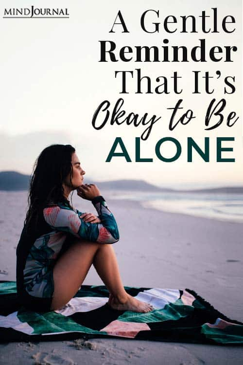 Reminder Its Okay To Alone pin