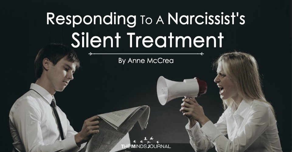 Responding To A Narcissist's Silent Treatment