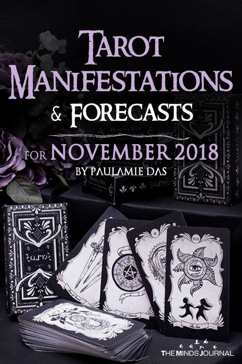 Tarot Manifestation Reading For November 2018