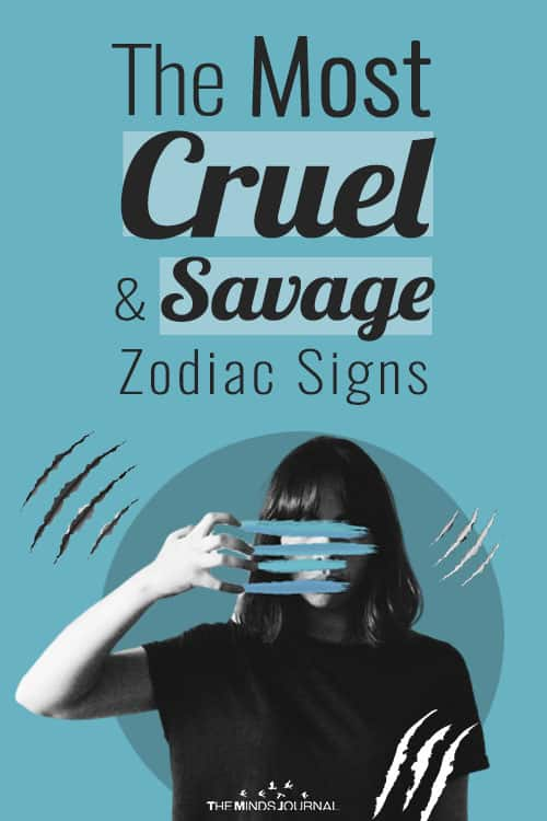 The Most Cruel and Savage Zodiac Signs
