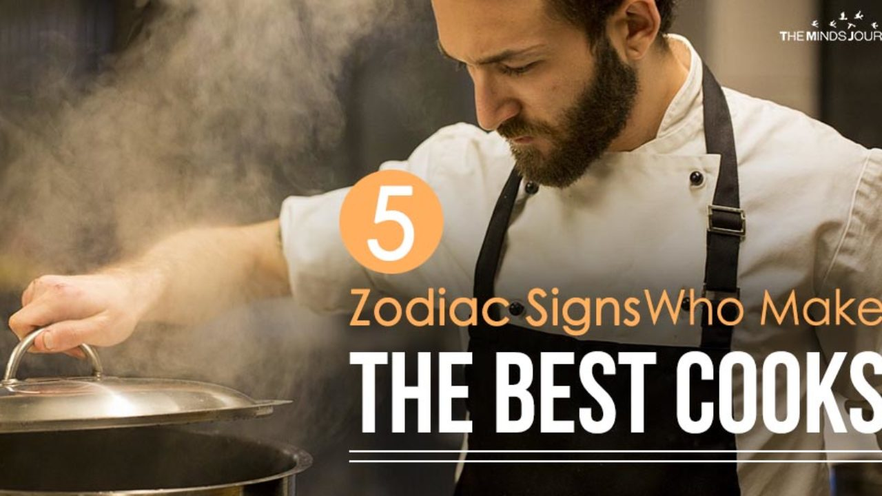The Top 5 Zodiac Signs Who Make The Best Cooks