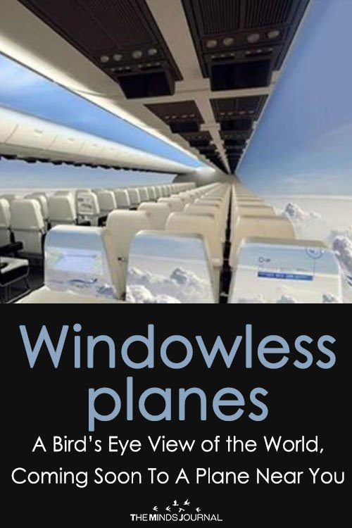 Windowless Planes A Bird's Eye View of the World, Coming Soon To A Plane Near You