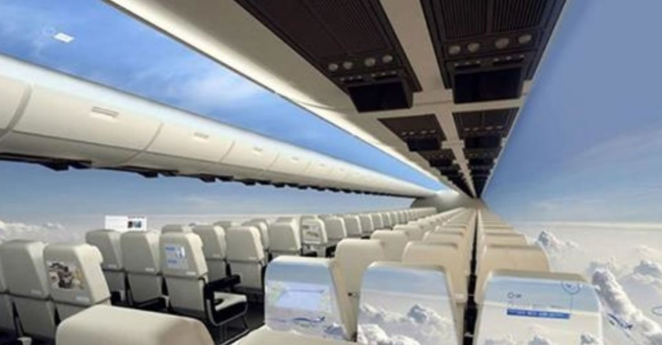 Windowless Planes: A Bird's Eye View of the World, Coming Soon To A Plane Near You