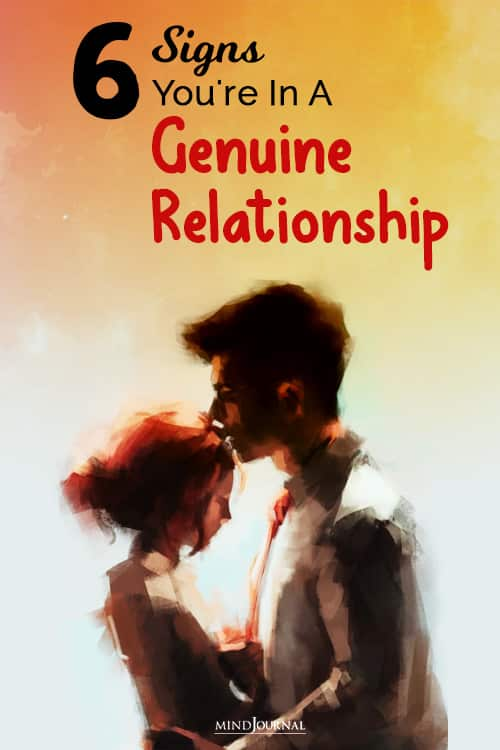 a genuine relationship pin