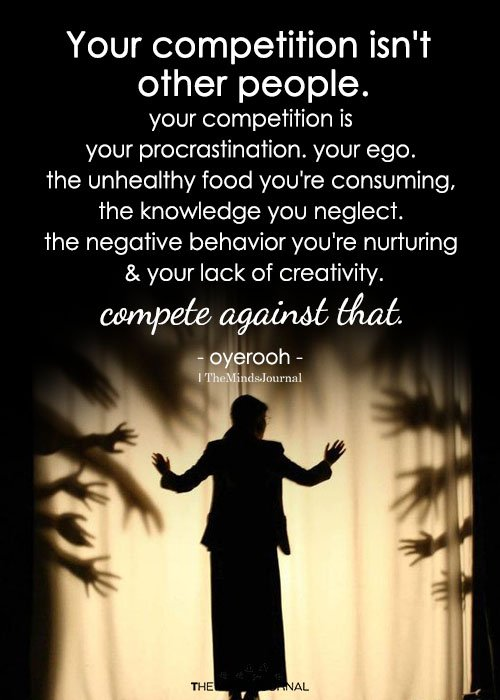 Your Competition Isn't Other People