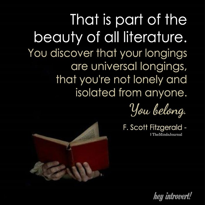 Beauty Of All Literature
