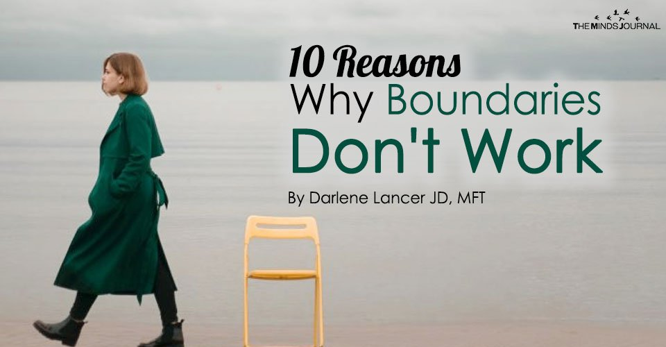 10 Reasons Why Boundaries Don't Work
