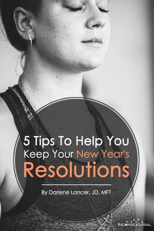 5 Tips To Help You Keep Your New Year's Resolutions