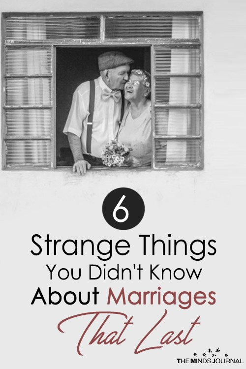 6 Strange Things You Definitely Didn't Know About Marriages That Last