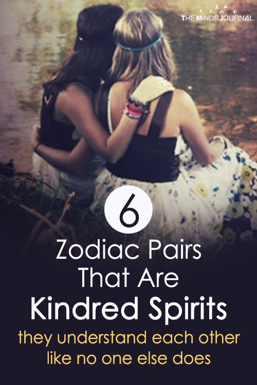 6 Zodiac Pairs That Are Kindred Spirits