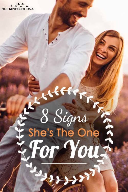 signs shes the one