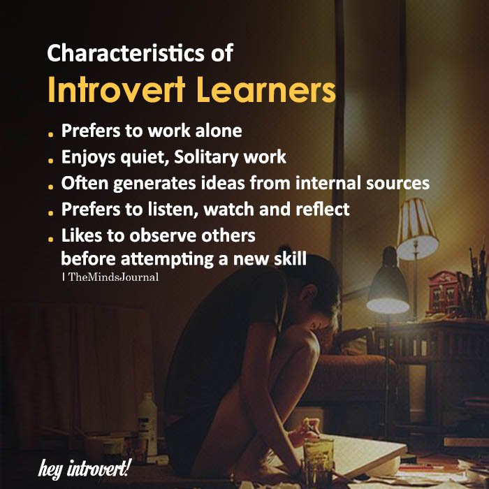Characteristics Of Introvert Learners