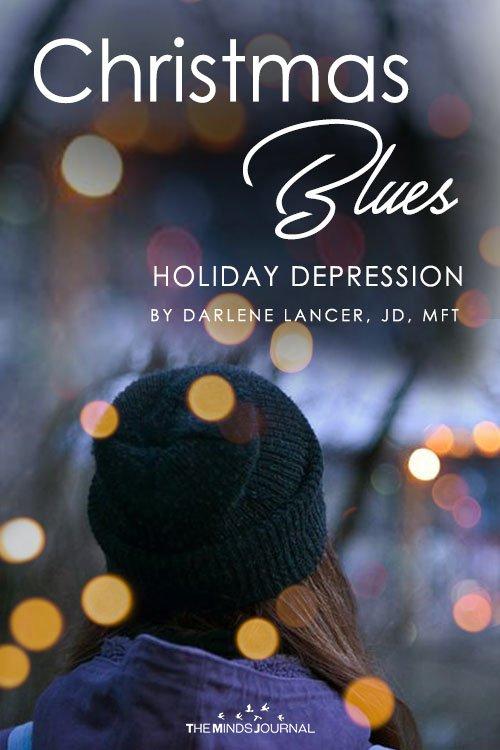 Christmas Blues Holiday stress