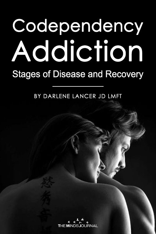 Codependency Addiction Stages of Disease and Recovery