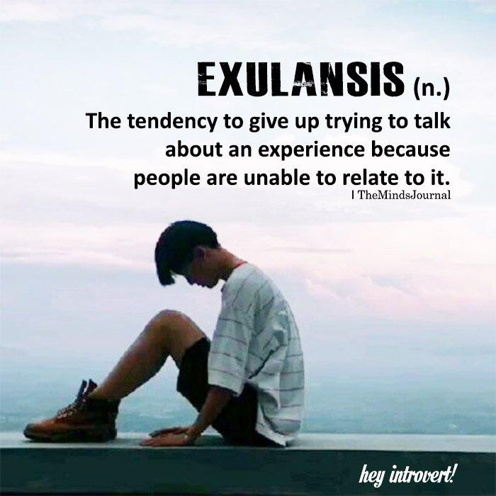 Exulansis