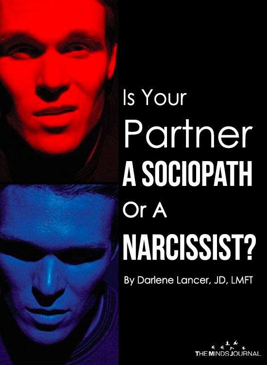 Is Your Partner A Sociopath Or A Narcissist