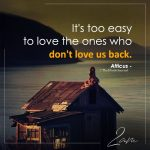 It's too easy to love