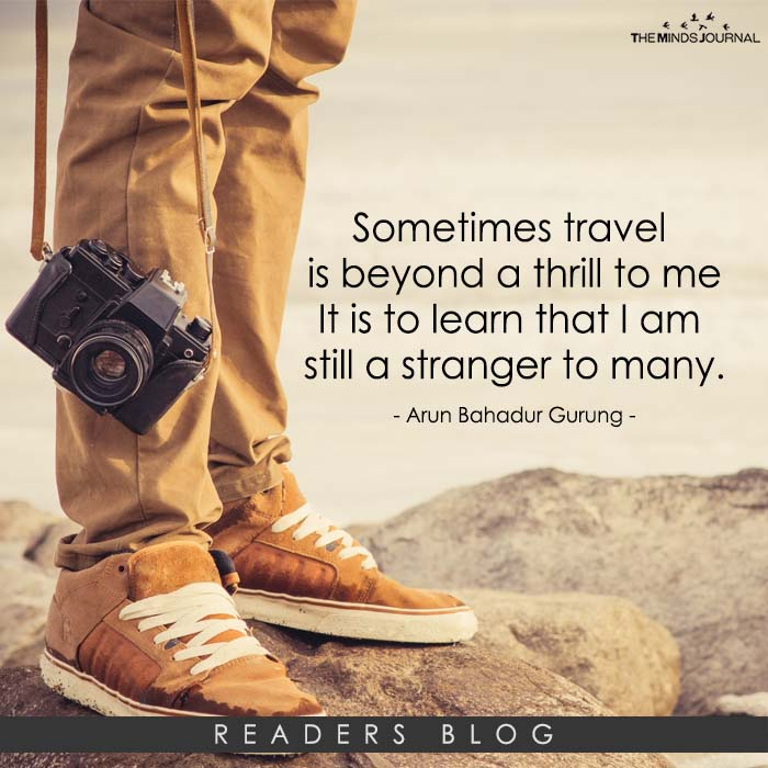 Musing on Travel