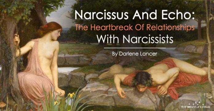Narcissus And Echo The Heartbreak Of Relationships With Narcissists