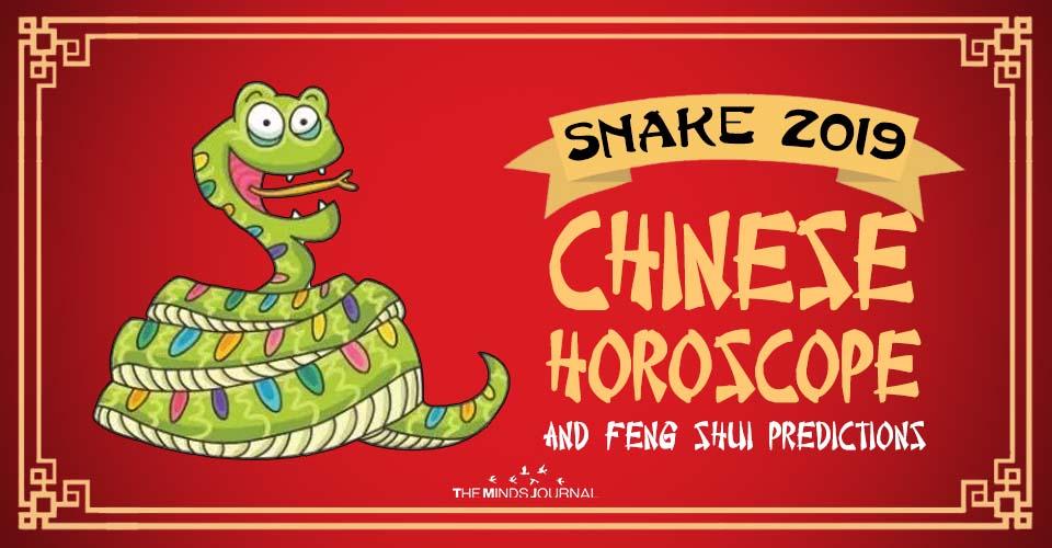 Snake 2019 Chinese Horoscope & Feng Shui Forecast