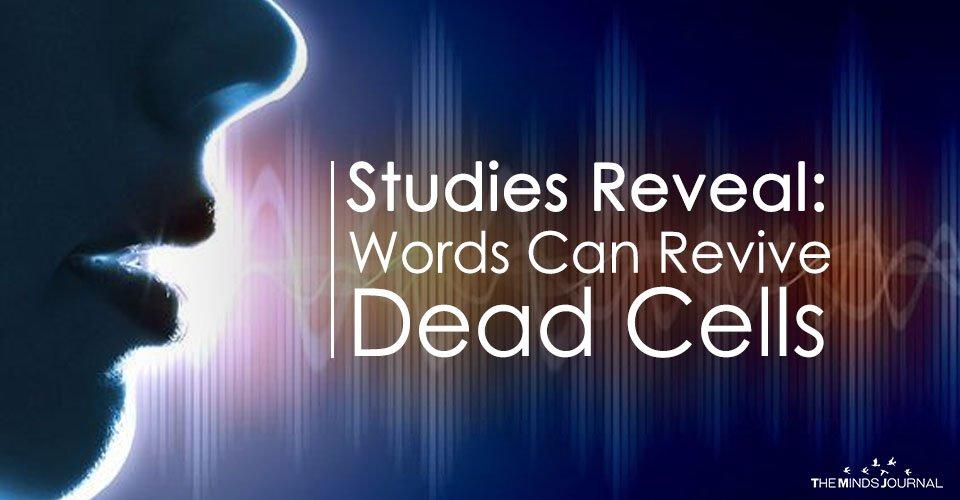 Studies Reveal: Words Can Revive Dead Cells