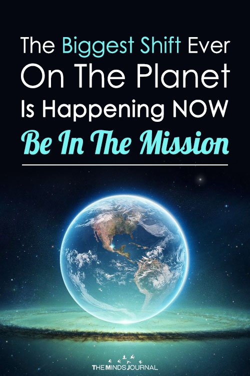 The Biggest Shift Ever On The Planet Is Happening NOW Be In The Mission