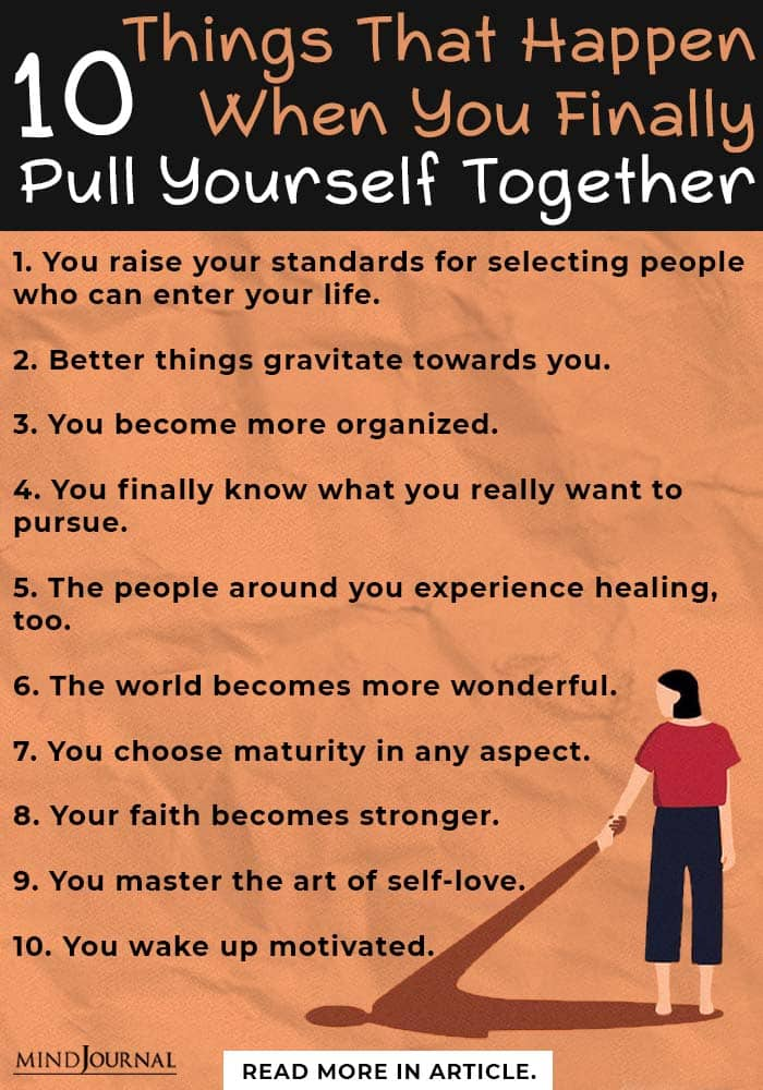 Things Finally Pull Yourself Together info