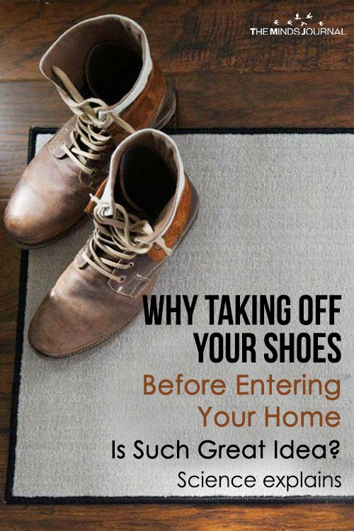 Why Taking off Your Shoes Before Entering Your Home Is Such