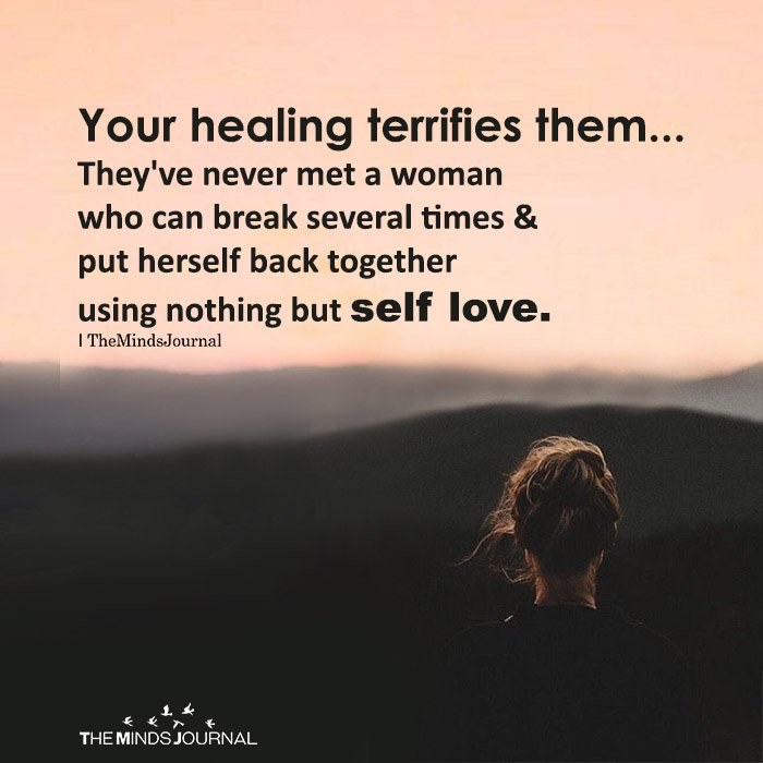 Your healing terrifies them