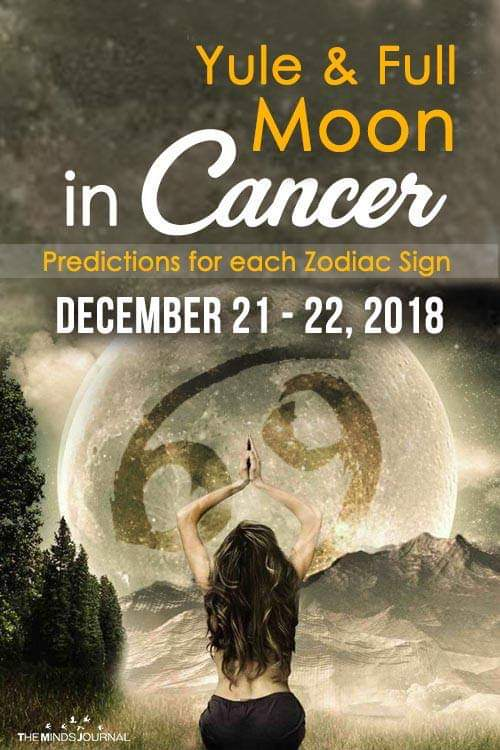 Yule and the Full Moon in Cancer – Predictions for Each Zodiac Sign