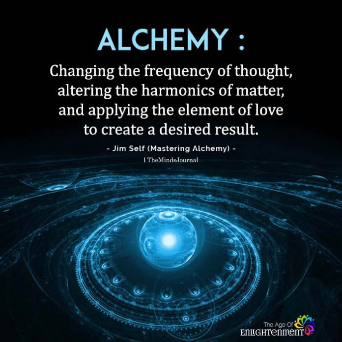 alchemy changing the frequency of thought
