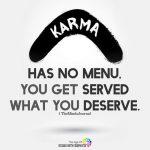 KARMA -has no menu