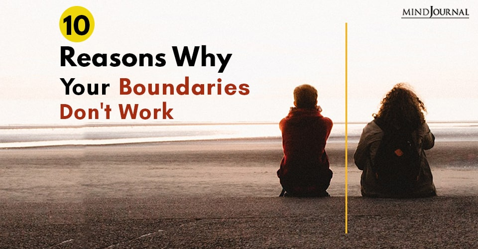 reasons boundaries dont work