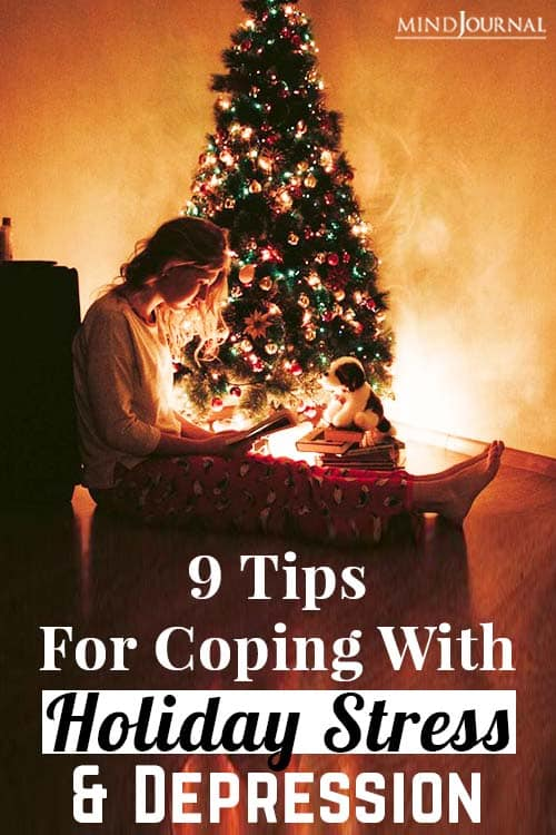tips coping with holiday stress pin
